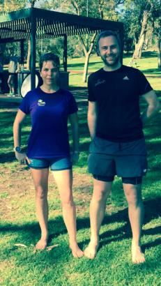 Barefoot runners!